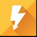 Electric energy icon