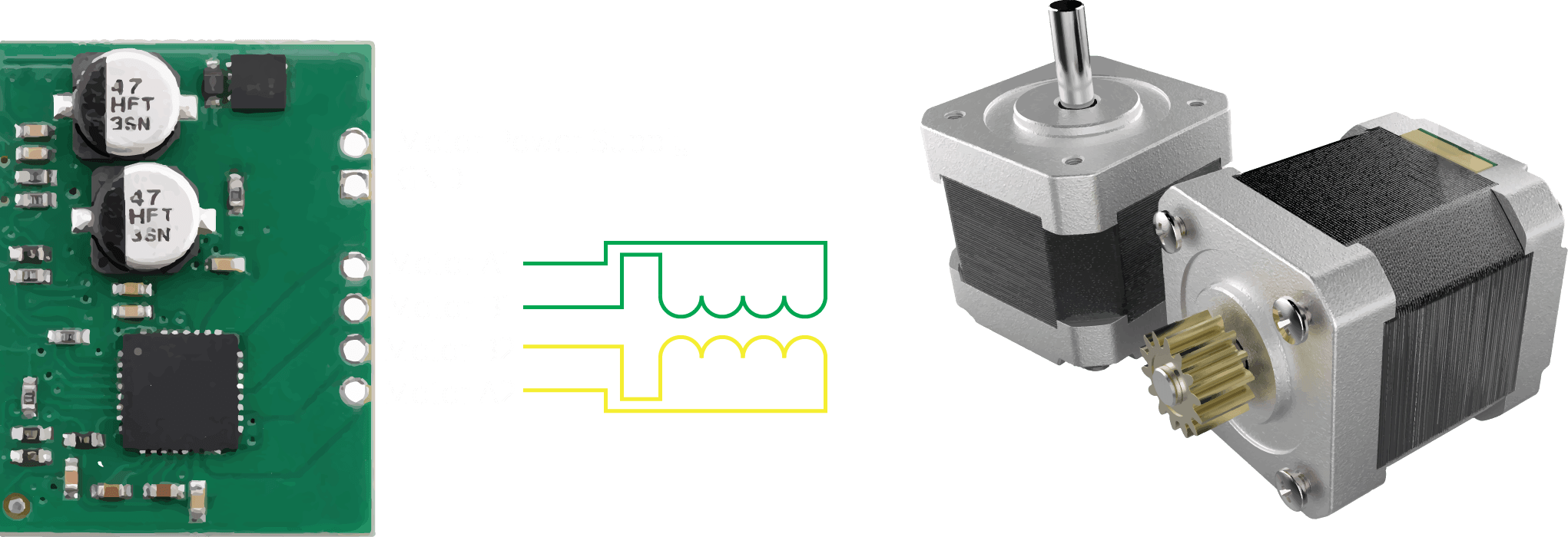 Precision controller for Stepper Motors